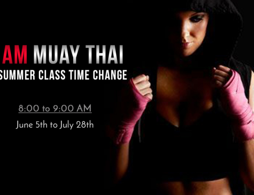 Muay Thai AM Class :: Time Change