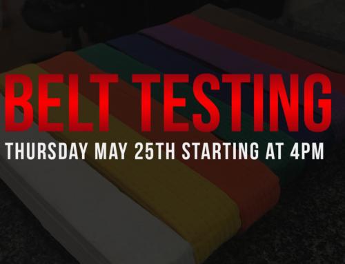Testing May 2017